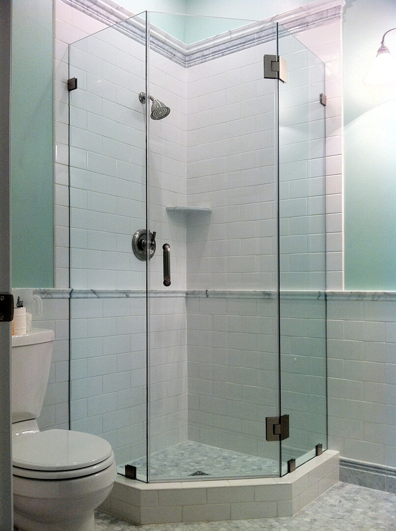 Custom Euro Glass Frameless Shower Glass Doors Bethesda MD - Seamless bathroom shower doors