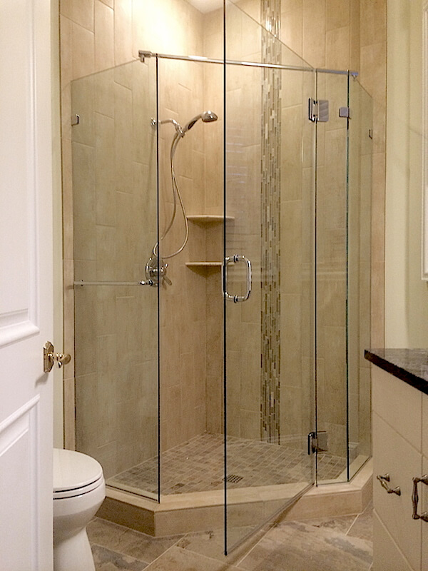 Frameless Neo Angle Shower Enclosures