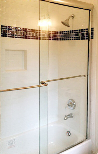 Frameless Sliding Shower Doors And Enclosures