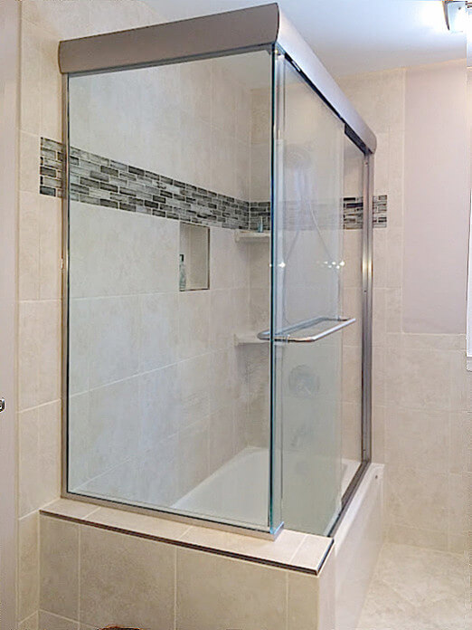 Sliding Glass Shower Doors Corner Sliding Glass Shower